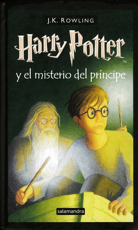 libro harry potter y el principe mestizo: