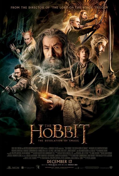 El Hobbit - La desoalción de Smaug Poster