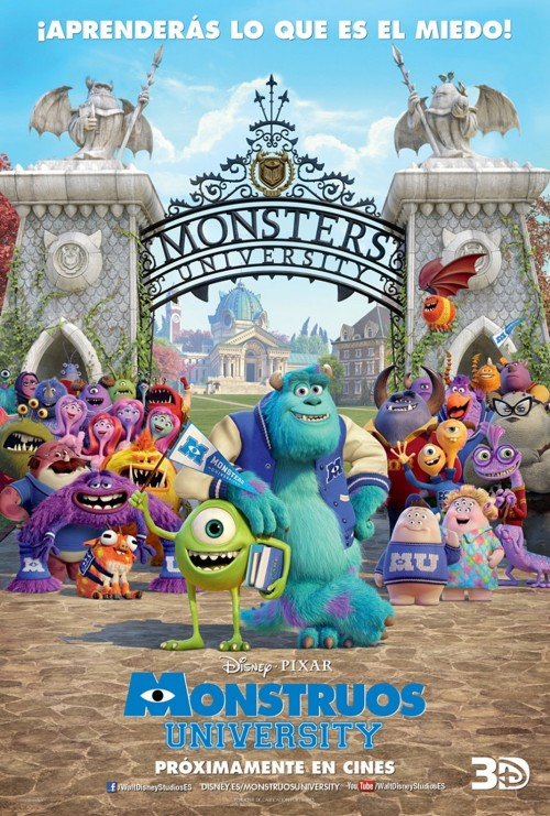 Monstruos University Poster