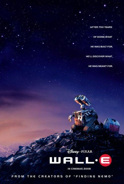 Wall·E Pixar poster