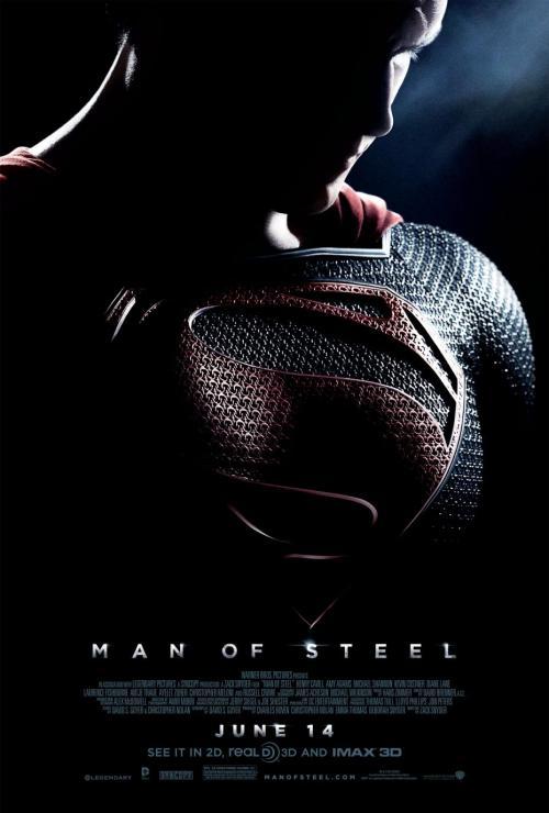 poster-promocional-el hombre de acero