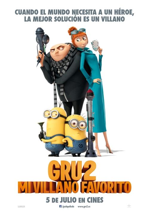 Gru, mi villano favorito 2 poster