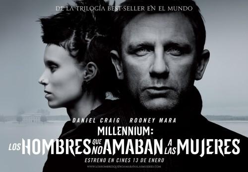 millennium los hombres que no amaban a las mujeres poster