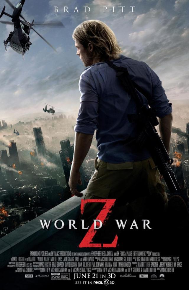 Película Guerra Mundial Z Un Libro Para Esta Noche