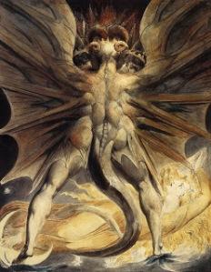 El-gran-dragon-rojo-y-mujer-vestida-de-sol-William-Blake
