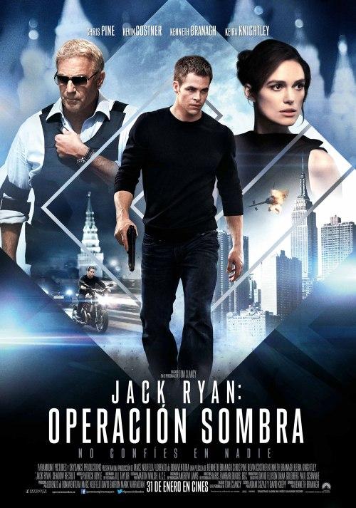 Jack Ryan Operación Sombra poster