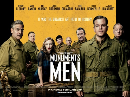 The Monuments Men Poster