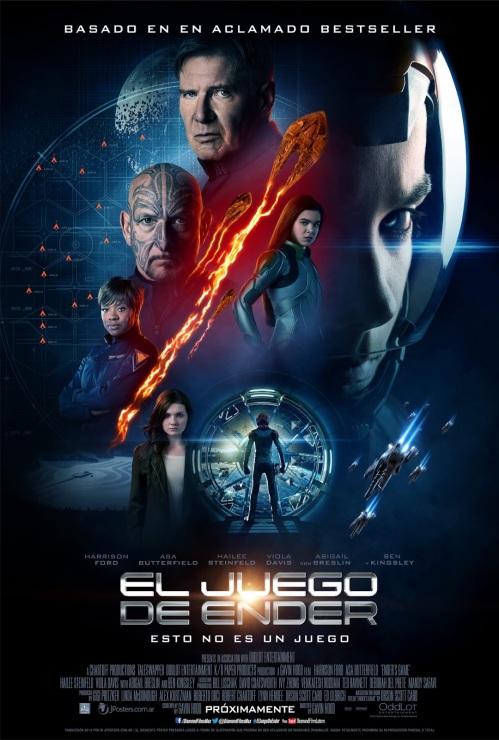 El juego de Ender poster