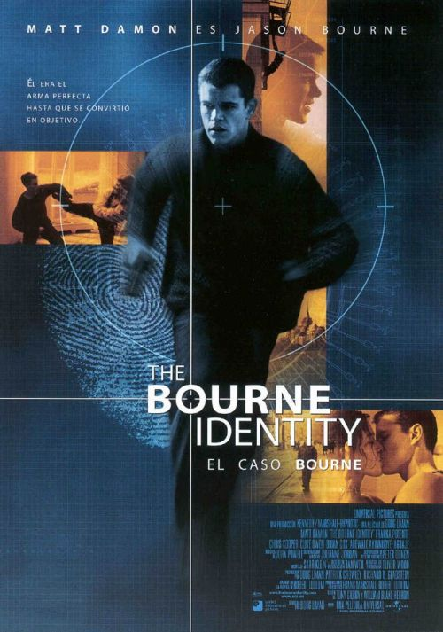 El caso Bourne Poster