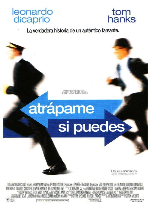 atrapame si puedes poster