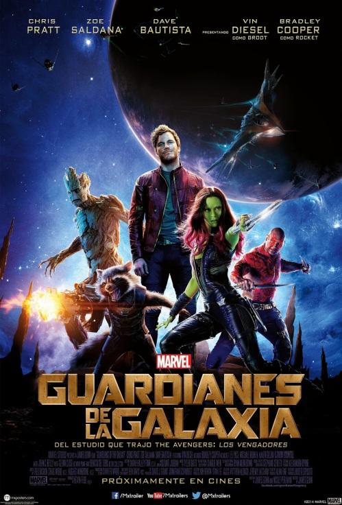 Guardianes de la galaxia poster2