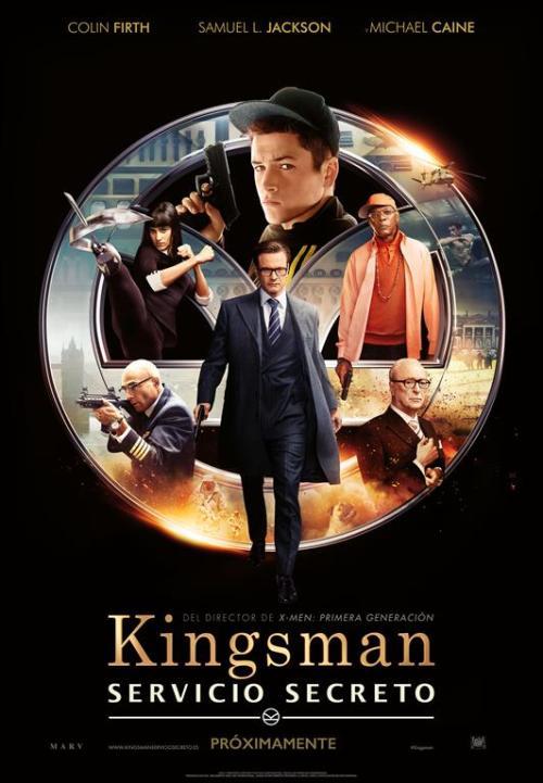 Kingsman Servicio Secreto poster