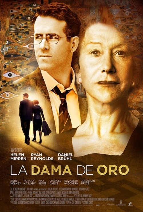 la dama de oro poster