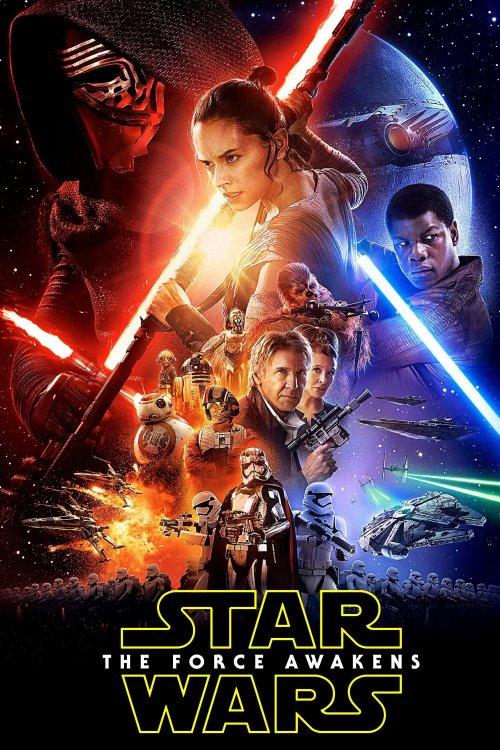 Star Wars Episodio VII El despertar de la fuerza poster