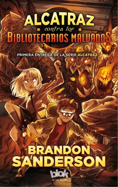 Alcatraz contra los bibliotercarios malvados - Brandon Sanderson